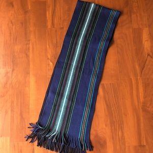 Fraas Blue, Striped Scarf